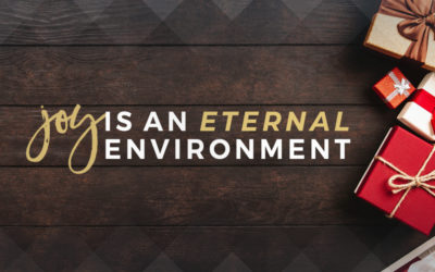 Joy Is An Eternal Environment.